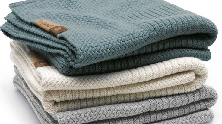 Bugaboo Soft Wool Blanket - Light Grey Melange