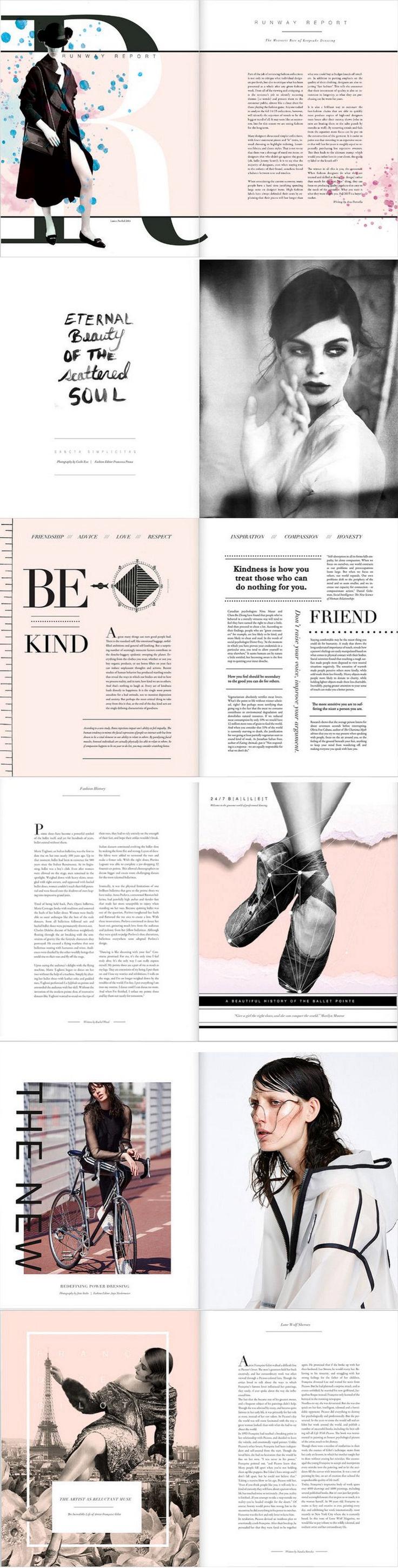 Amazing Magazine Layout Design Idea (30)