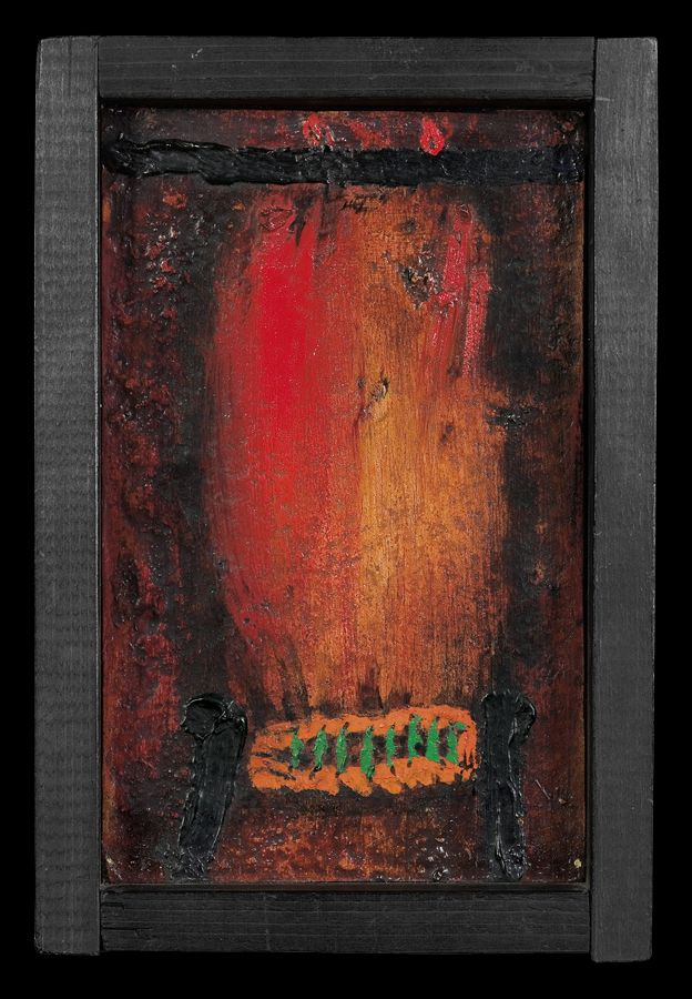 XXX, 1969  olej, deska   24.3 x 16.5 cm