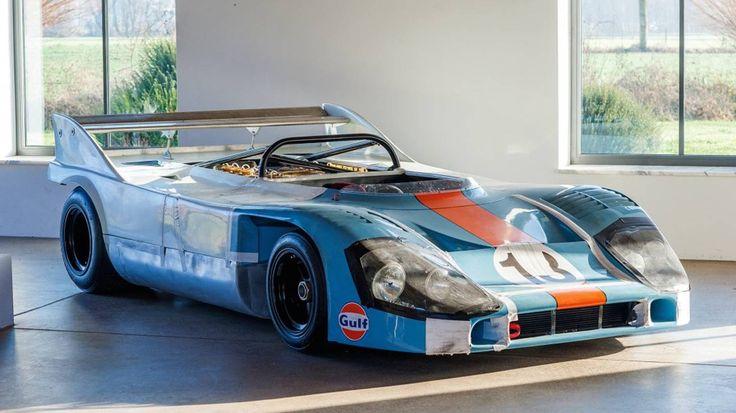 Porsche's First 917 Can-Am Spyder