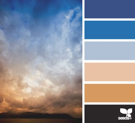 Home Decor Color Palettes spring color palette inspiration for outfits and home decor colors Stormy Horizon Colour Schemescolor Combinationscolour Palettespaint