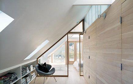Zolder slaapkamer van Victoriaanse woning   Inrichting-huis.com