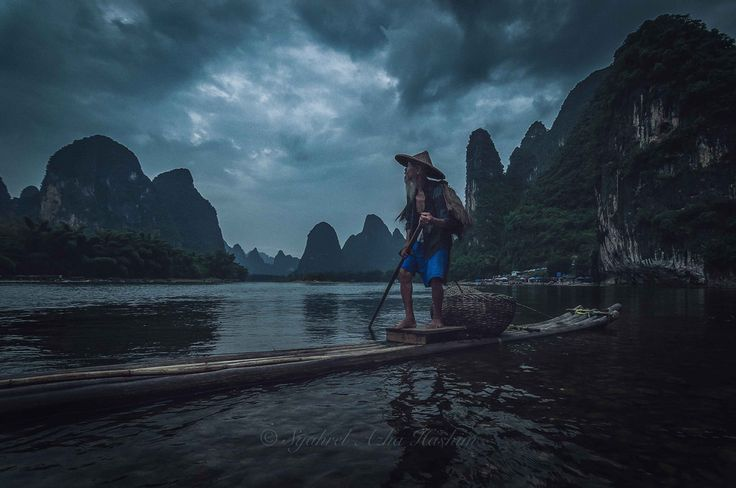 Paddling his raft | by Syahrel Azha Hashim