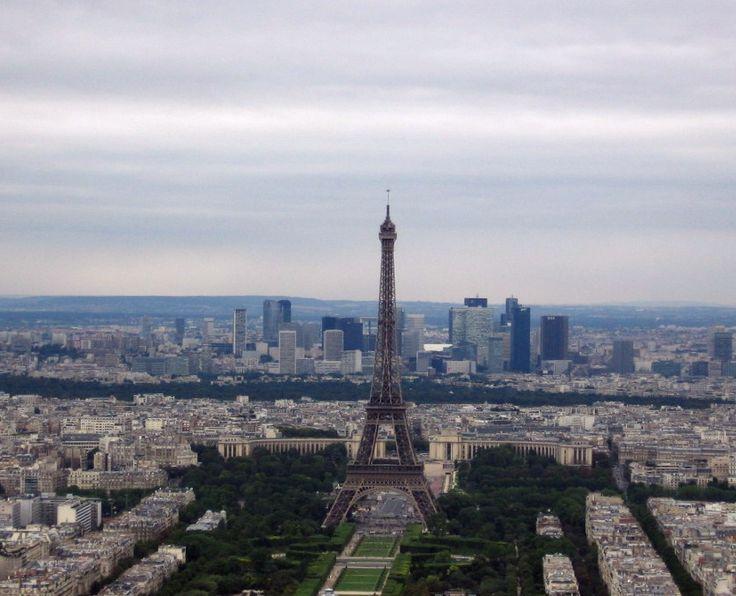Paris - Panorama from the Montparnasse tower - Photo: Beata B.