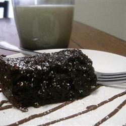 Incroyable gâteau au chocolat à la mijoteuse @ qc.allrecipes.ca