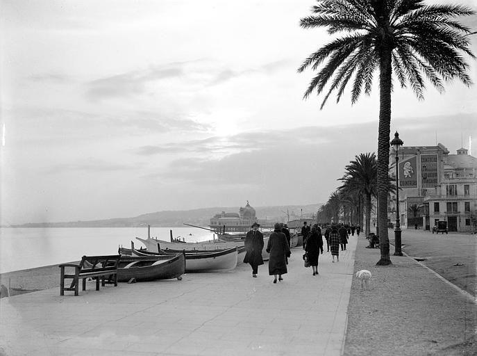 Coucher de soleil sur la Promenade des Anglais, Georges-Louis Arlaud - Georges-Louis Arlaud — Wikipédia