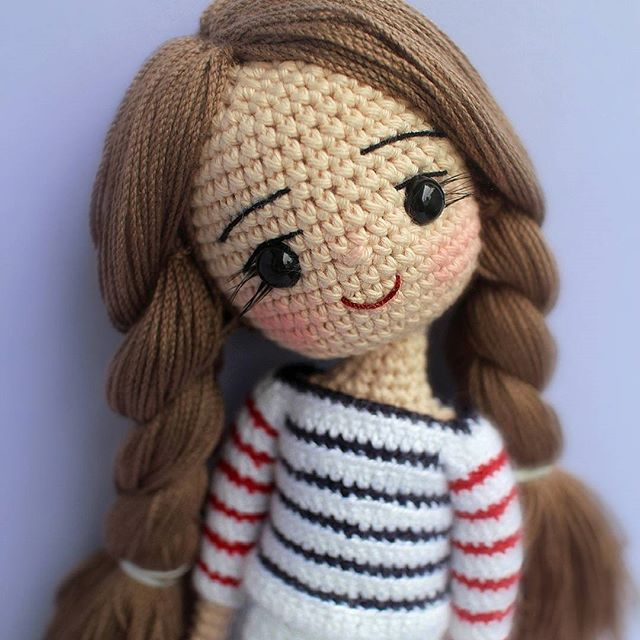 "2,192 Likes, 47 Comments -  ⓝⓐⓝⓒⓨ  (@ilovecrochet_nancy) on Instagram: ""Smile, because it makes you beautiful ~ Happy Weekend everyone ♪(๑ᴖ◡ᴖ๑)♪"""