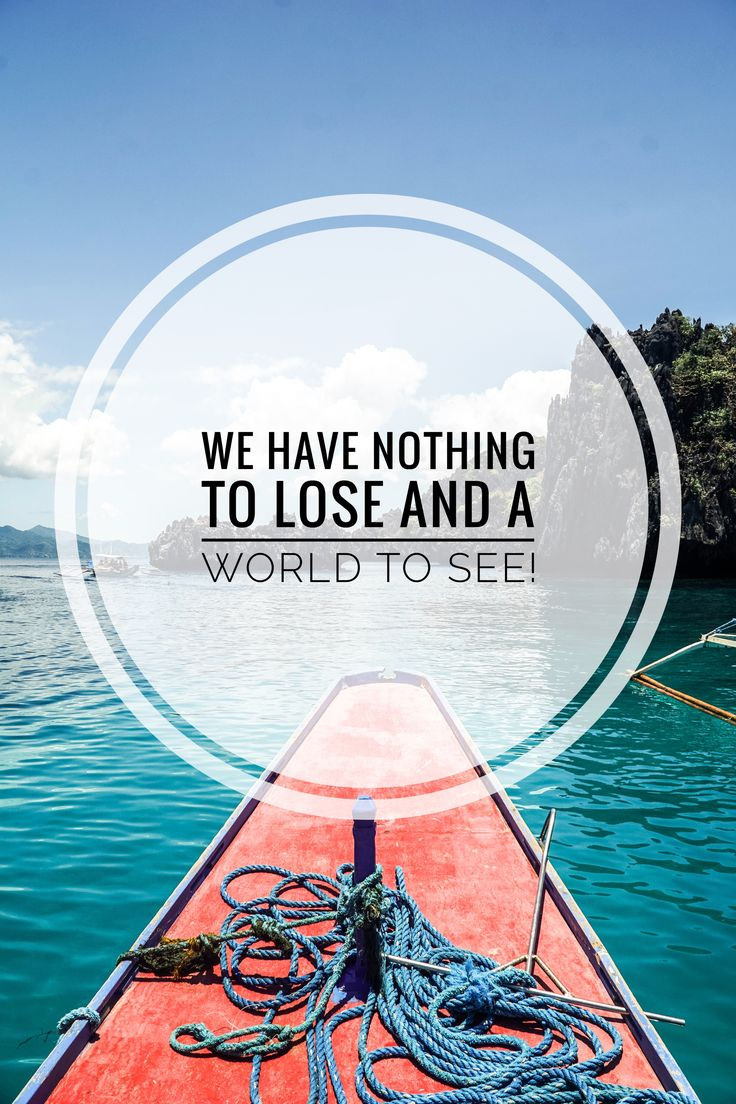 TRAVEL QUOTE - Click to see our Philippines travel guide! SEEK SEE TRAVEL