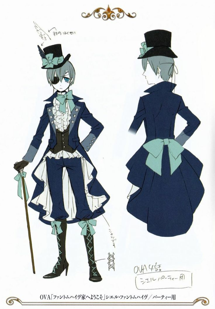 17 best images about ciel phantomhive clothing on