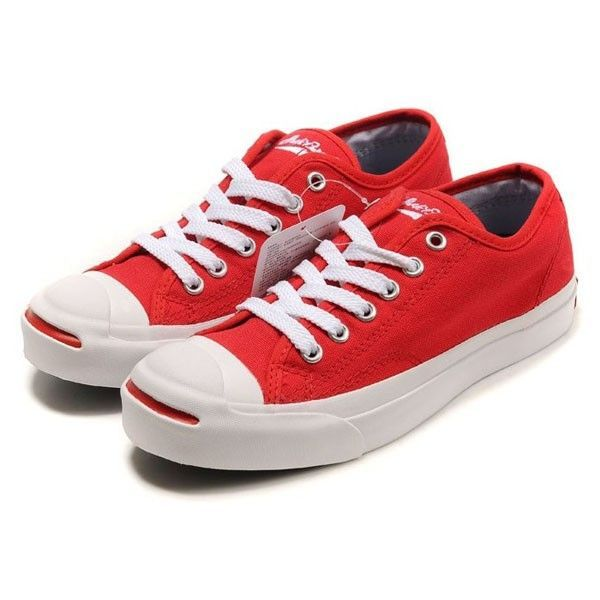 0e4afbe0b95e8d Converse Shoes Red Jack Purcell Classic Canvas Low