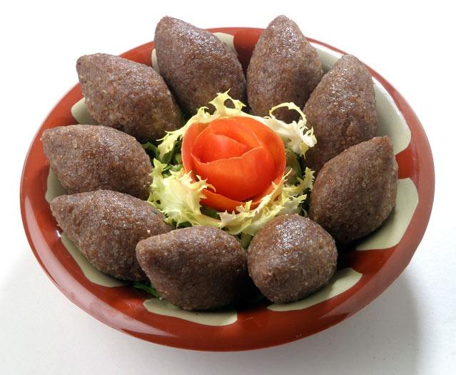 LEBANESE RECIPES: A'rrass Kebbeh Recipe - How to Make A'rrass Kebbeh