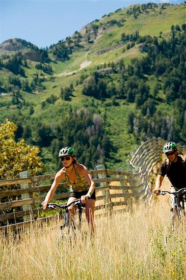 mountain biking at Sundance, Utah