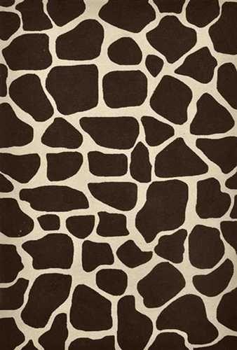 Brown:  Giraffe pattern.