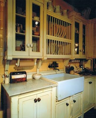 Roman and Williams Practical magic kitchen- farm house sink