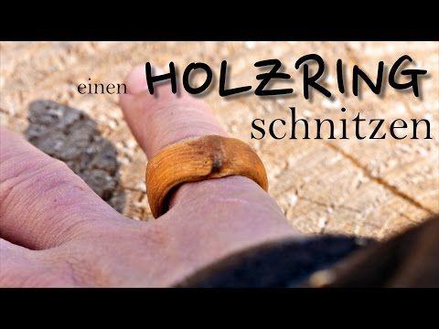 Holzring Schnitzen Diy Bushcraft Projekt Youtube