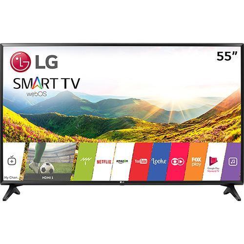 """Smart TV LED 55"""" Lg 55lj5550 Full HD Wi-Fi integrado 1 USB 2 HDMI Webos 3.5 Sistema De Som Virtual Surround Plus << R$ 287999 >>"""