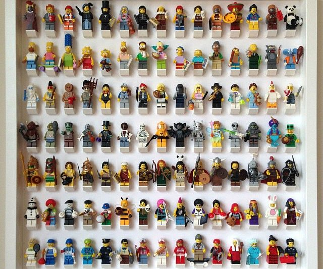 LEGO Action Figure Display Case