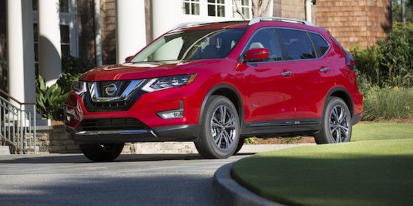 2017 Nissan Rogue, Nissan Rogue Hybrid SL AWD, Review
