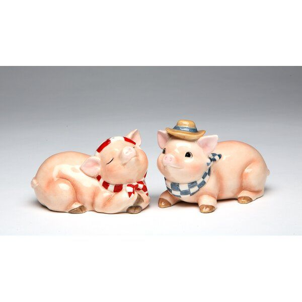 Cosmos Gifts Pig Salt And Pepper Set Salt And Pepper Set Cosmos Gifts Salt And Pepper