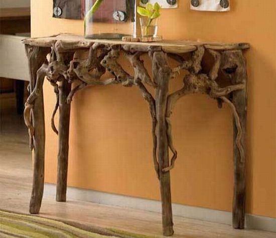 root furniture: Ideas, Side Table, Earth Homes, Wood, Dream, Roots, Home Decor, Root Furniture, Root Table
