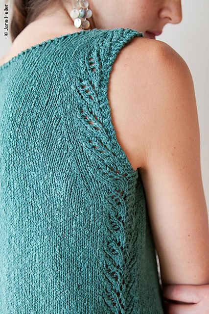Ravelry: Laresca pattern by Corrina Ferguson knit in Rowan Panama