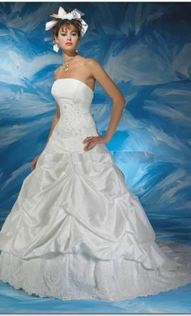 Allure Bridals wedding dress currently for sale at 74% off retail.