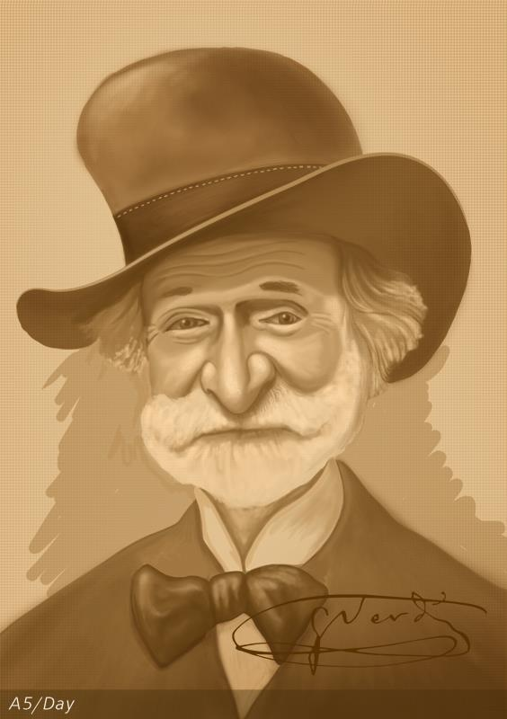 Giuseppe Fortunino Francesco Verdi  10 October 1813  Le Roncole,Département,First French Empire  Happy Birthday Giuseppe!!!