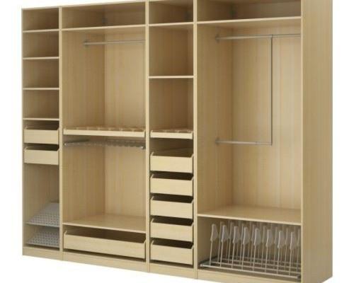 Walk through closet idea