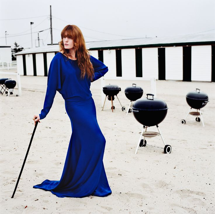 Florence Welch Steps Into the White-Hot L.A. Light