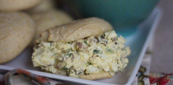 Bacon Jalapeño Egg Salad Sandwiches - serve with favorite low carb ...