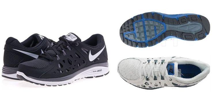 Sneakers for running... SCARPE NIKE DUAL FUSION RUN 2 599541002 599541100 NERO BIANCO