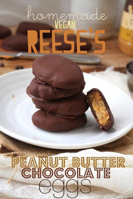 Homemade Reese's Chocolate Peanut Butter Eggs