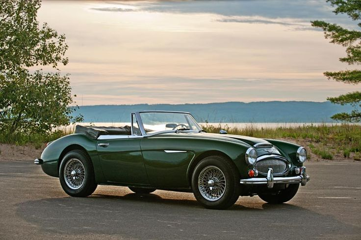 1967 Austin Healey 3000, Color is British Racing Green - My first car in 1974, http://autopartstore.pro/AutoPartStore/