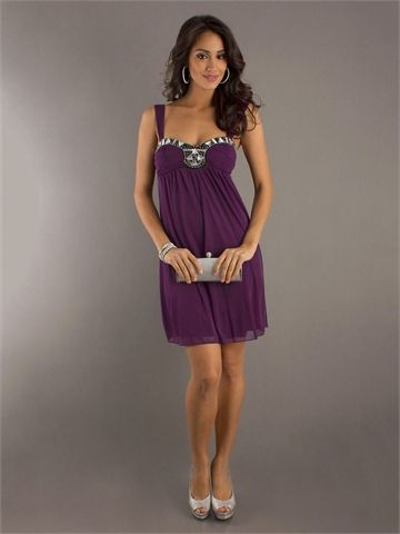 Sweetheart Neckline with Beadings Knee Length Homecoming Dress HD1282  http://www.homecomingstore.com