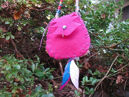 "Native American Indian-Inspired ""Medicine Bag"" for Kids 