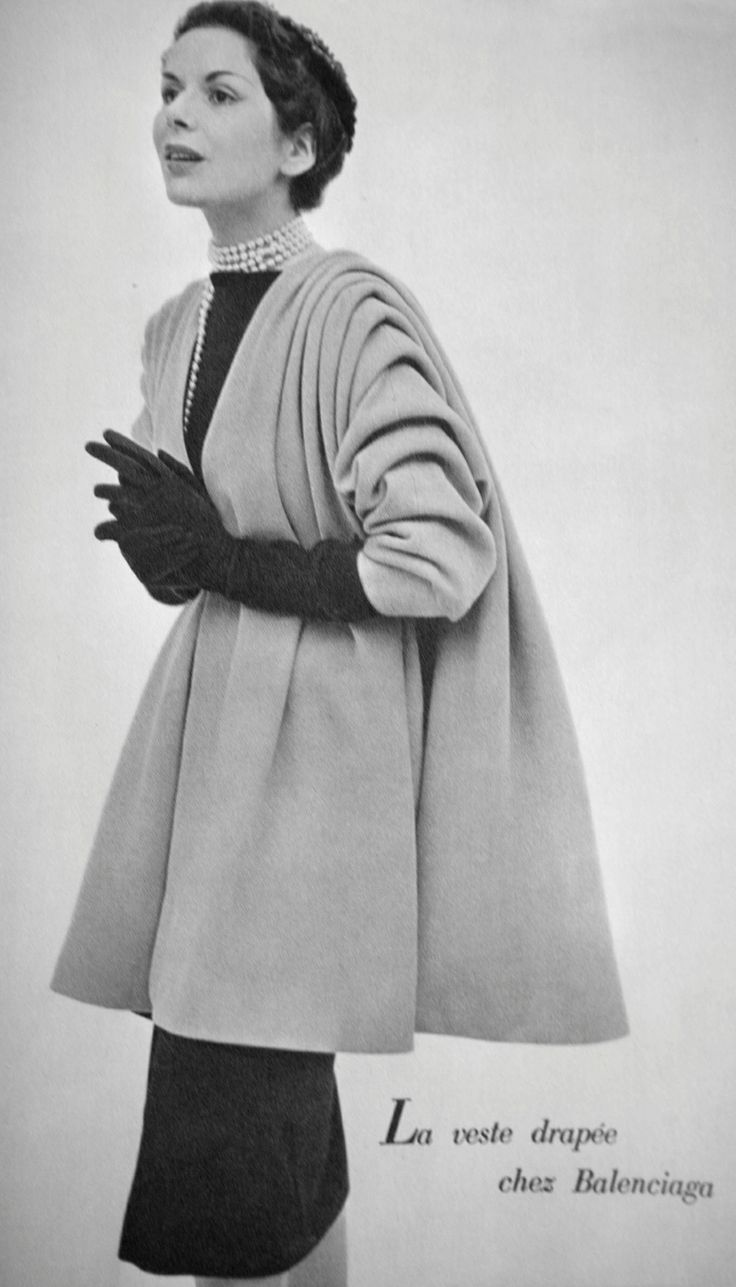 vintage balenciaga coat - Google Search