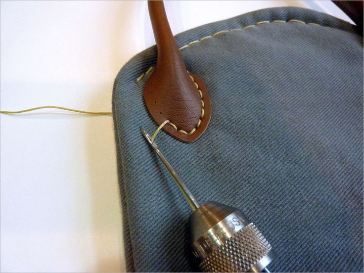 How to Use The Speedy Stitcher Sewing Awl   Sew4Home