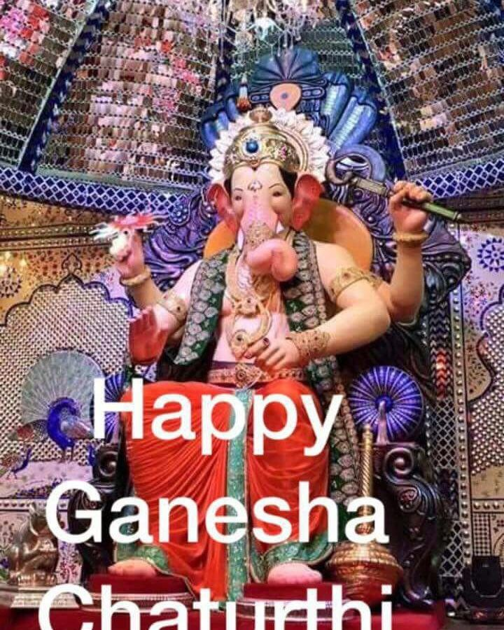 Happy Ganesha Chaturthi To Everyone . Stay Blessed and Happy, With Lots Of Good Health..