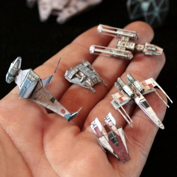 Tektonten Papercraft - Free Papercraft, Paper Models and Paper Toys: Star Wars Papercraft: Miniature Gaming Starships