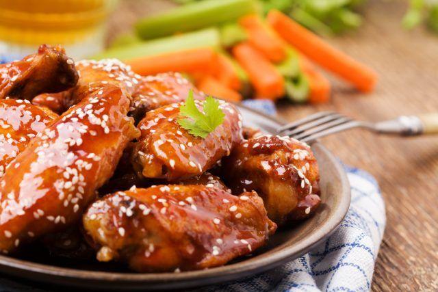 Alitas de pollo al horno con miel: fáciles, ricas y baratas ¡A cocinar!     #RecetasConPollo #AlitasDePollo #RecetasDePolloFáciles #RecetasFáciles