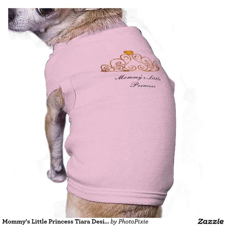 Mommy's Little Princess Tiara Design Pink