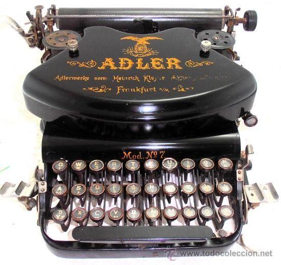 Máquina de escribir ADLER de 1932