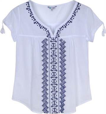 BATA BORDADA - Feminina - Blusas/Camisetas - Dript   Riachuelo - Patrocinadora Oficial da Moda