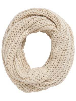 creme colored infinity scarf