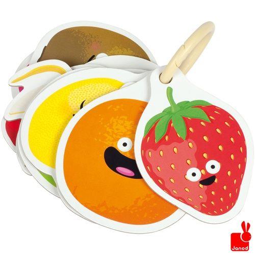 """(Janod) Spelletje """"Multifrutti"""" met 10 geurkaarten en kraskaarten"""