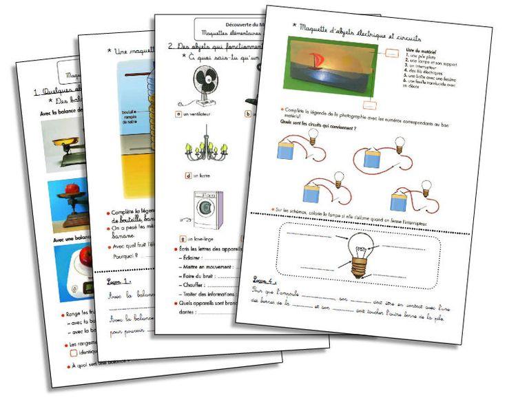Maquettes élémentaires et circuits électriques simples