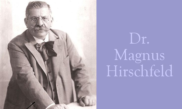 Dr. Magnus Hirschfeld (German sexologist) | Our Queer History | Queer History