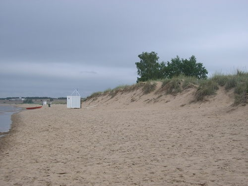 Kalajoki Dunes and Holiday Resort. Northern Ostrobothnia province, Finland.