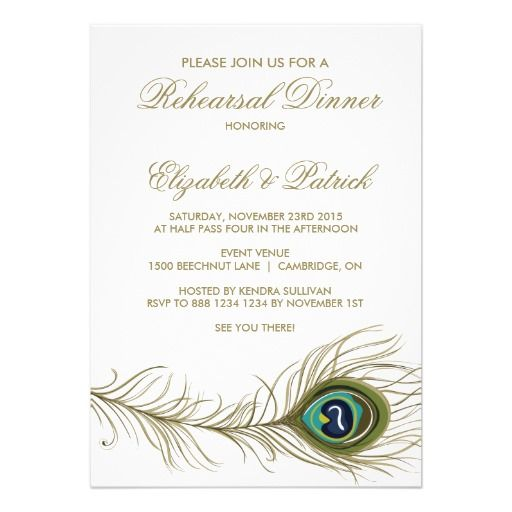 38 best Wedding Rehearsal Dinner Invitations images on Pinterest - how to word engagement party invitations
