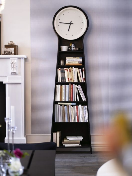 Ikea Ps Pendel Floor Clock Black Its Always Awesome And Built Ins